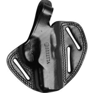 Funda BERETTA, exterior, cuero negro amoldado, serie PX4-0