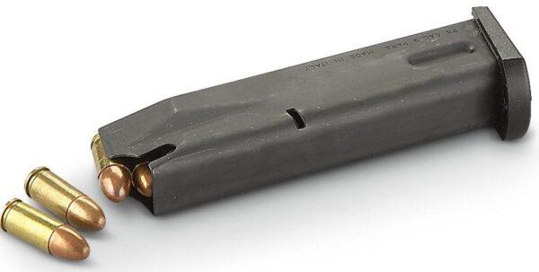 Cargador BERETTA, MODELO 92FS, calibre 9 Pb.-0