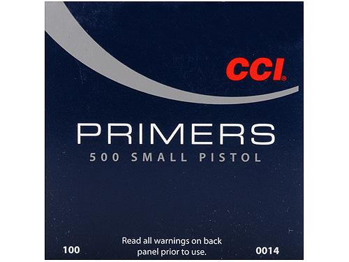 Pistones CCI, 500 Standard Small Pistol.-0