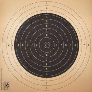 Dianas KROMER, entrenamiento 25/50 m., FST/ISSF, numerados-0