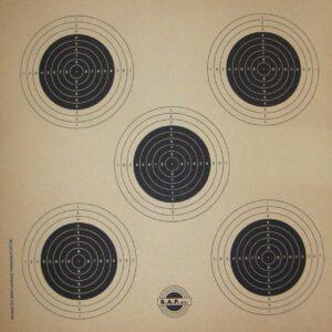Dianas KROMER , 5 blancos carabina-0