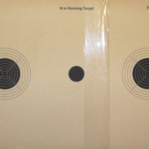 "Dianas KROMER, 10 metros, ""RUNNING TARGET"" BLANCO MOVIL 10 m. uit-0"