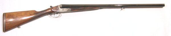 Escopeta J THONON, modelo BOX LOCK EJECTOR, caibre 12, nº 6871-0