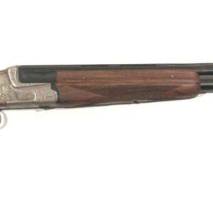 Escopeta AYA, modelo 37A, calibre 12, nº 8517, con dos juegos de cañones-0