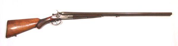 Escopeta O. KIRSCHBAUM, mod. HAMMERS DAMASCUS BARREL, cal.16/50, nº 138475-0