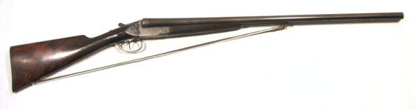 Escopeta A. LEBEAU COURALLY, modelo GRANDE RUSSE, calibre 12, nº 36028-0