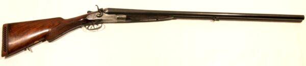 Escopeta W.C. SCOTT AND SONS, modelo HAMMERS, calibre 12, nº 40161-0
