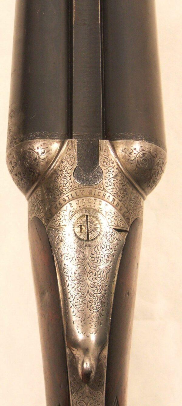 Escopeta WESTLEY RICHARDS, modelo BOX LOCK EJECTOR,calibre 12, nº 16359-173