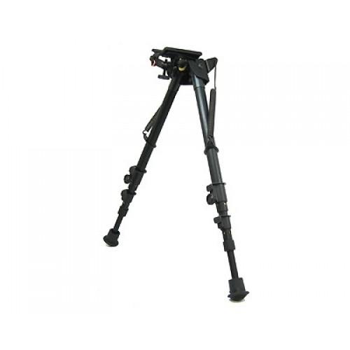 Bipode HARRIS, modelo 25C-S, basculante, patas largas-0