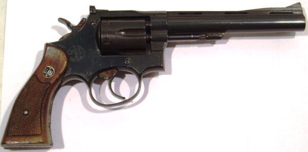 Revolver LLAMA, modelo MARTIAL, calibre 38 Sp., nº 745548-0