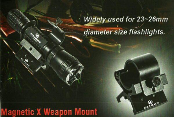 Montura magnetica OLIGHT nueva Gen2.-1030