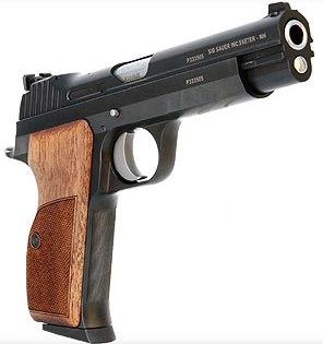 Pistola SIG SAUER, modelo P210 TARGET, calibre 9 Pb. -1010