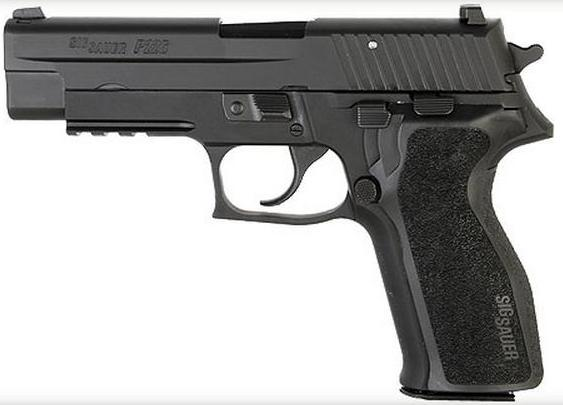 Pistola SIG SAUER, modelo P226 AL SO BT, calibre 9 Pb.-977