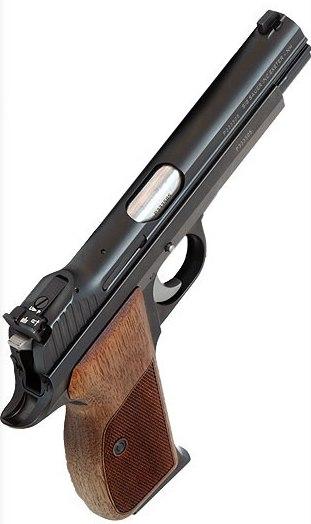 Pistola SIG SAUER, modelo P210 TARGET, calibre 9 Pb. -1008