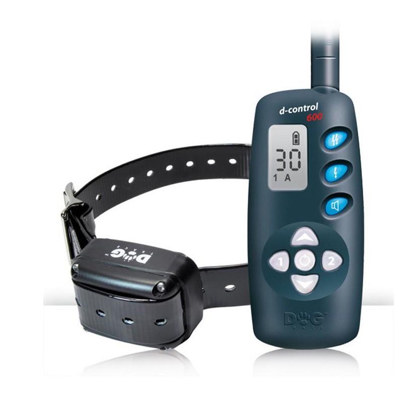 Collar Educativo DOGTRACE 600, alcance 600 m 1 o 2 Perros.-0