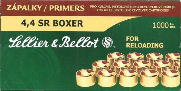 Pistones SELLIER & BELLOT, calibre 4,4 SR boxer-0