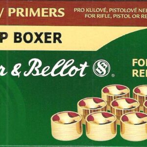 Pistones SELLIER & BELLOT, calibre 5,3 LP boxer-0