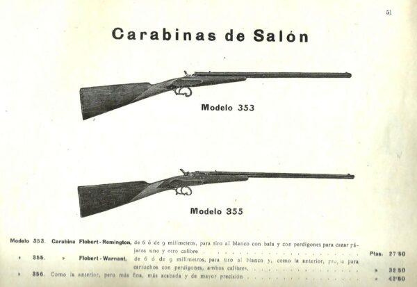 Escopeta MAB, modelo 355, calibre 9 mm Flobert nº 23558.-1259
