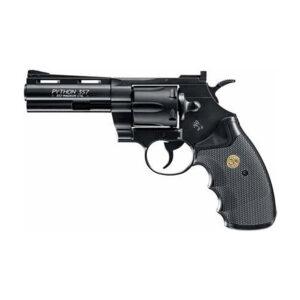 """Revolver COLT, modelo PYTHON, calibre 4,5 BB acero, 4,5""""-0"""