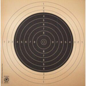 Blancos KROMER, centros de recambio, para velocidad 25 metros pistola, FST/ISSF-0