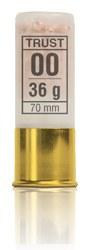 Cartuchos TRUST E., modelo SUPER HALCON GRUESO, calibre 12/70/22, perdigon 00 Cobreado-1389