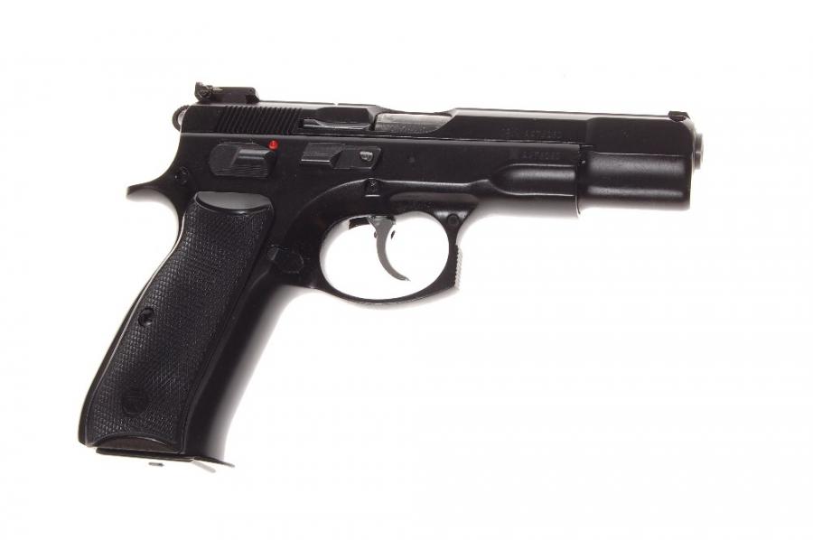 Pistola CESKA, modelo 85 COMBAT, calibre 9 Pb.-0