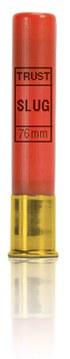 Cartuchos TRUST E., modelo PEQUEÑOS MAGNUM, calibre 410/76/16, bala BRENNEKE SILVER-1423