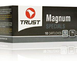 Cartuchos TRUST E., modelo MAGNUM, calibre 12/76/27, bala BRENNEKE SILVER-0