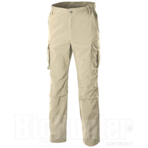 Pantalón LE CHAMEAU, modelo MOSNAY, color beig-gres-0