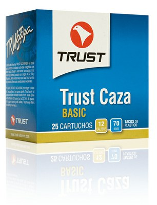 Cartuchos TRUST E., modelo CAZA DISPERSANTE, calibre 12/70/08, perdigón 7, 10 y 11-0