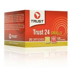 Cartuchos TRUST, modelo PEQUEÑOS 24, calibre 24/65/08, perdigo 7 y 8.-0