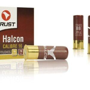 Cartuchos TRUST E., modelo HALCÓN , calibre 16/70/16, perdigon del 5 al 10-0