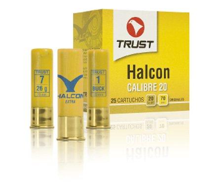Cartuchos TRUST E., modelo HALCÓN, calibre 20/70/16, perdigón del 6, 7, 8 Y 10-0