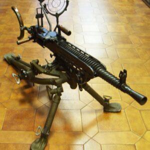 Ametrallador inutilizada ZB37, con todos los accesorios.-0