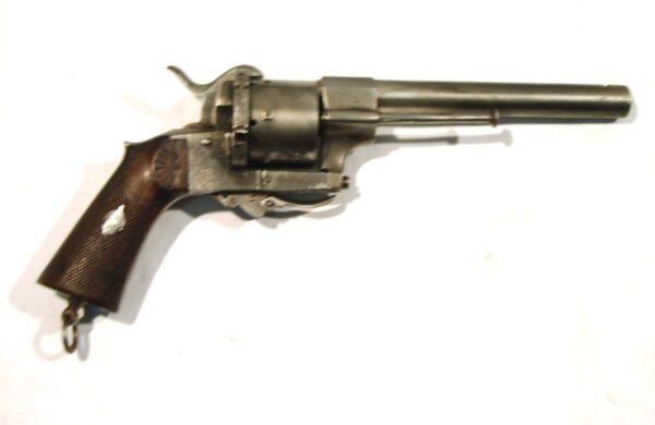 """Revolver P. ECHEVARRIA, modelo """"PARTICULARES"""", calibre11 mm., SN9387-0"""