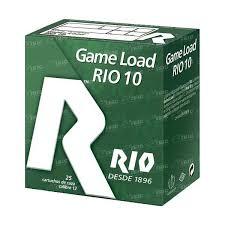 Cartuchos MAXAM, modelo GAME LOAD 30 (RIO 10),calibre 12/70/10 perdigón del 7 al 10-0
