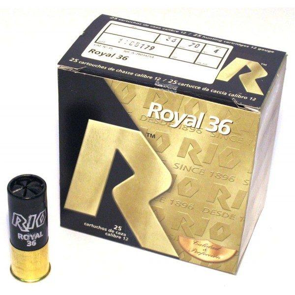 Cartuchos MAXAM, modelo ROYAL 36, calibre 12/70/25, perdigón 6 y 7.-0