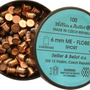 Cartuchos SELLIER & BELLOT, caibre 6 mm. Flobert corto.-0