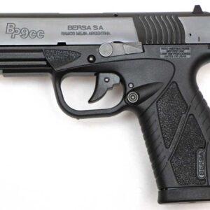 Pistola BERSA, modelo BP9CC BLOWBACK PACK, calibre 4,5 bolas BB acero-0