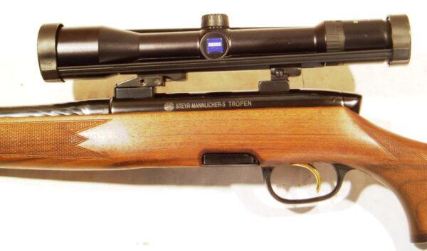 Rifle STEYR MANNLICHER, modelo S TROPEN, calibre 375 H&H, nº 1031672-1876