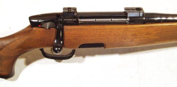 Rifle STEYR MANNLICHER, modelo S TROPEN, calibre 375 H&H, nº 1031672-1877