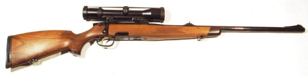 Rifle STEYR MANNLICHER, modelo S TROPEN, calibre 375 H&H, nº 1031672-0