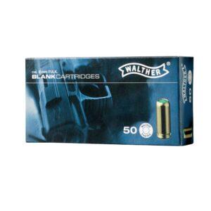 Cartuchos WALTHER, calibre 9 mm, pistola (50u.)-0