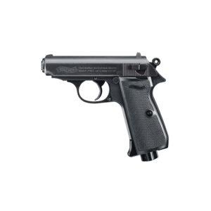 Pistola WALTHER, modelo PPK/S, calibre 4,5 BB acero.-0