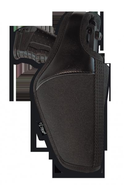 Funda DINGO, exterior, cordura/cuero, pistola grande-0