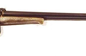 Escopeta CANONS RUBANS, modelo J COLSCUL, calibre 16 Lefaucheux, nº 104-0