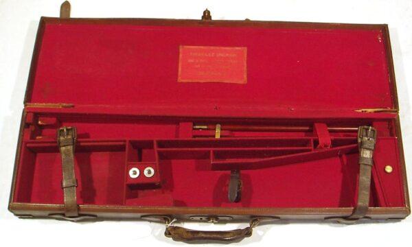 Escopeta CHARLES INGRAM, modelo Boxlock Ejector, calibre 16/65, nº A5548-2462