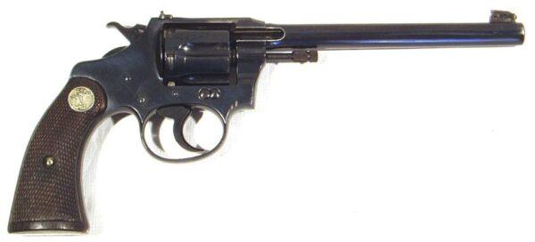 Revolver COLT, modelo POLICE POSITIVE TAGET MODEL (1ª versión), calibre 22 lr., nº 24061-0