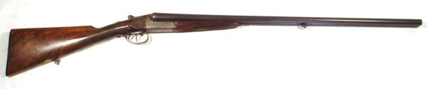 Escopeta CHARLES INGRAM, modelo Boxlock Ejector, calibre 16/65, nº A5548-0
