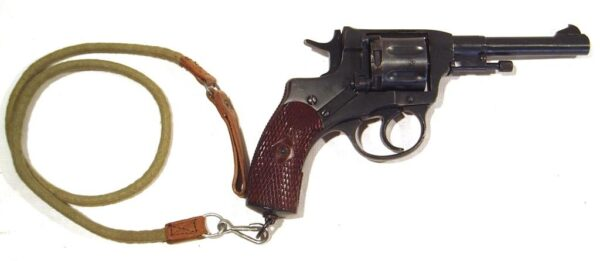 Revolver NAGANT, modelo 1922, calibre 7,62 Nagant, nº G041-0